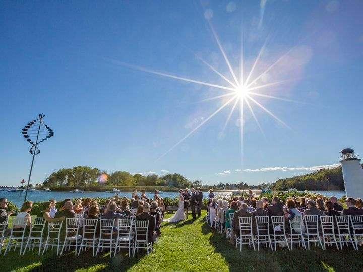 Tmx 1495729225447 Ariel  Kevin Outdoor Ceremony   Russell Caron Wedd Kennebunkport, ME wedding venue