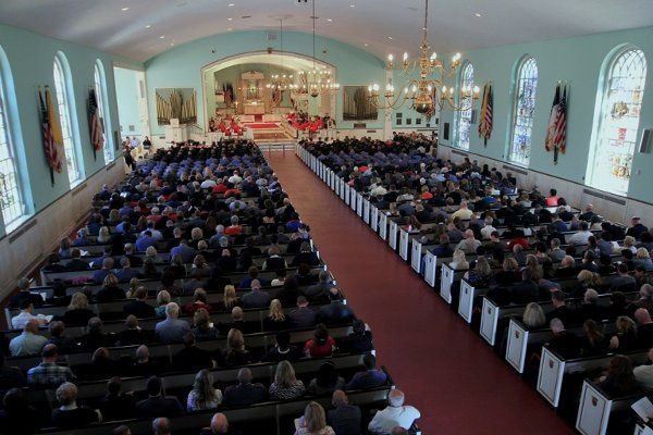 The Chapel seats 1300 people.