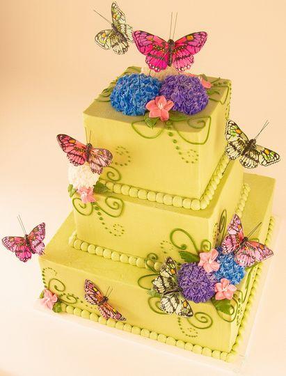 Merritt\'s Bakery - Wedding Cake - Tulsa, OK - WeddingWire