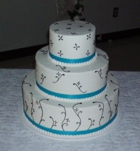 Tmx 1422635590624 W12 Tulsa, Oklahoma wedding cake