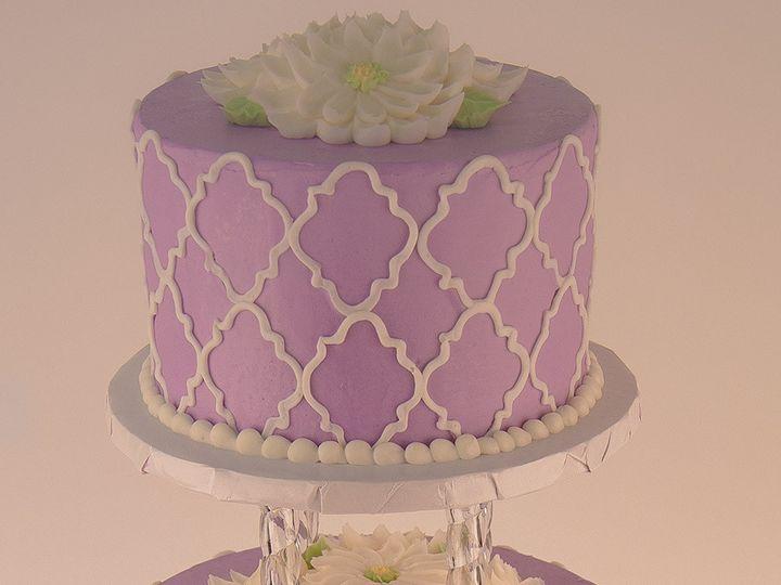 Tmx 1483990092459 Quadrafoil Tulsa, Oklahoma wedding cake