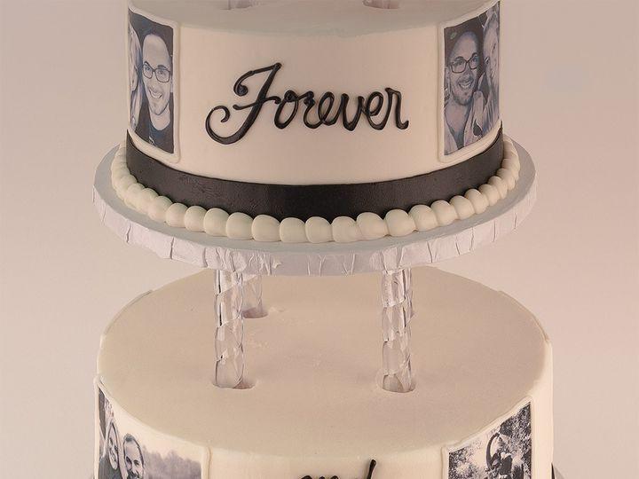 Tmx 1483990101763 Alwaysandforever2 Tulsa, Oklahoma wedding cake