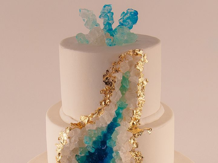 Tmx 1483990125629 Geodecake Tulsa, Oklahoma wedding cake