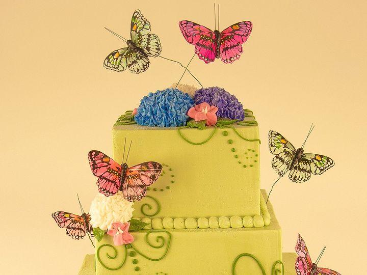 Tmx 1483990283519 Butterflycake Tulsa, Oklahoma wedding cake