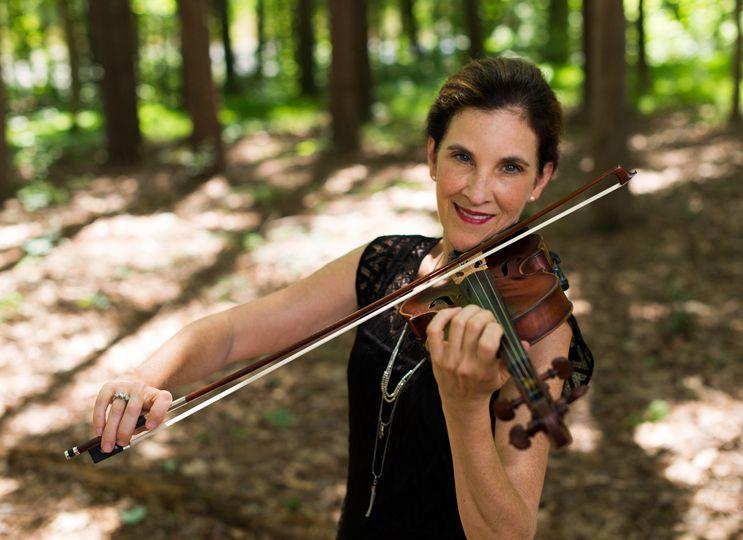 Violinist of Arioso Strings