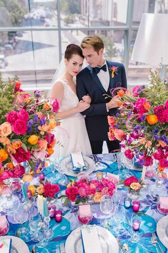 Violets Are Blue {floral design}