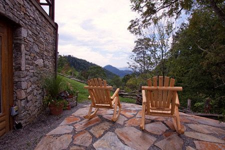 Panoramic View of Five Mountain Ranges From Front Porch