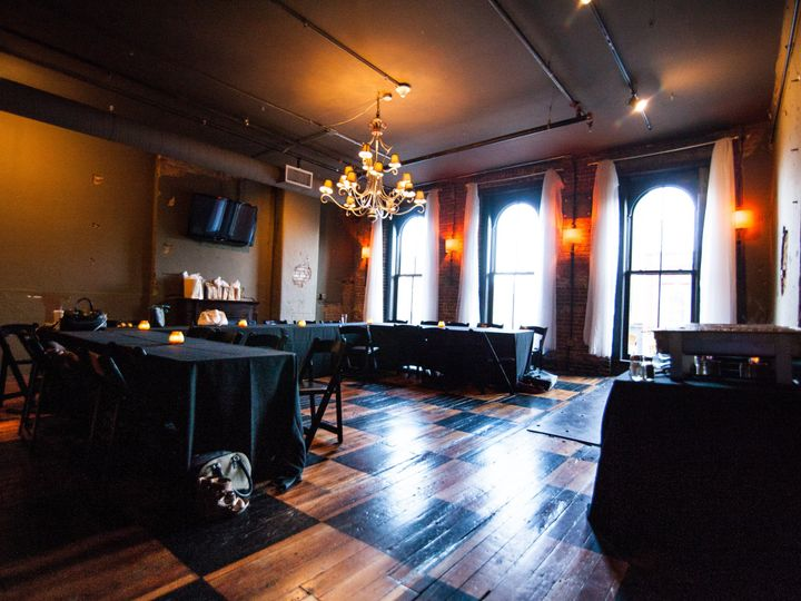 Tmx 1414436149061 Rehearsal Dinner In Loft Front Room Louisville, KY wedding venue