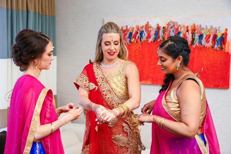 Indian Style Wedding Makeup