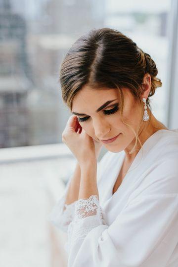 Rachel's Wedding Makeup