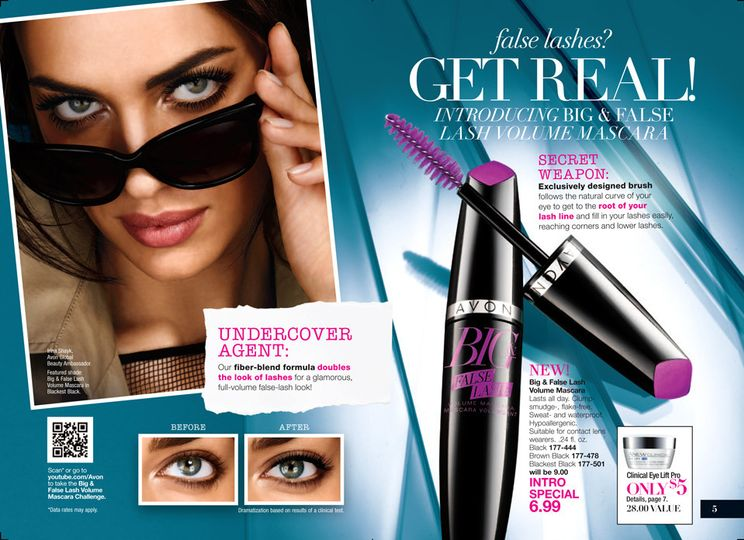 Mascara in black, brown/black, or blackest black.  Make your lashes look fuller and thicker.
