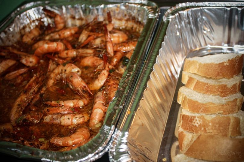 BBQ Shrimp with French Bread