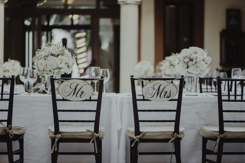 A reception at Hacienda Corazon