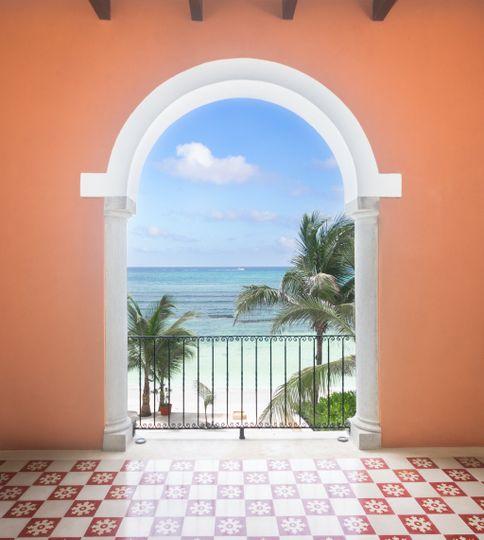 Hacienda Magica bridal suite
