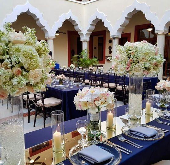 Table Decor Hacienda Corazon