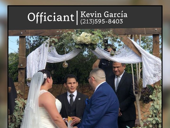 Tmx Kevin Garcia Proile Picture 51 1967495 159165756634290 Downey, CA wedding officiant