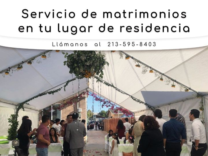 Tmx Matrimonios Lugar De Residencia 51 1967495 159165759762356 Downey, CA wedding officiant