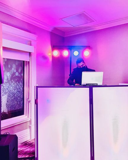 Who says a DJ can't dance.