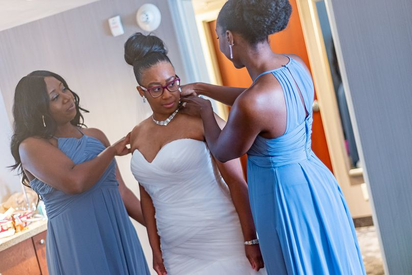 A Bride and her Ladies