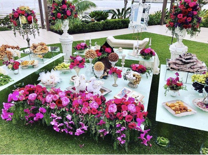 Sofreh Persian Wedding