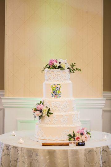 Wedding cake | Danette Pascarello Photography