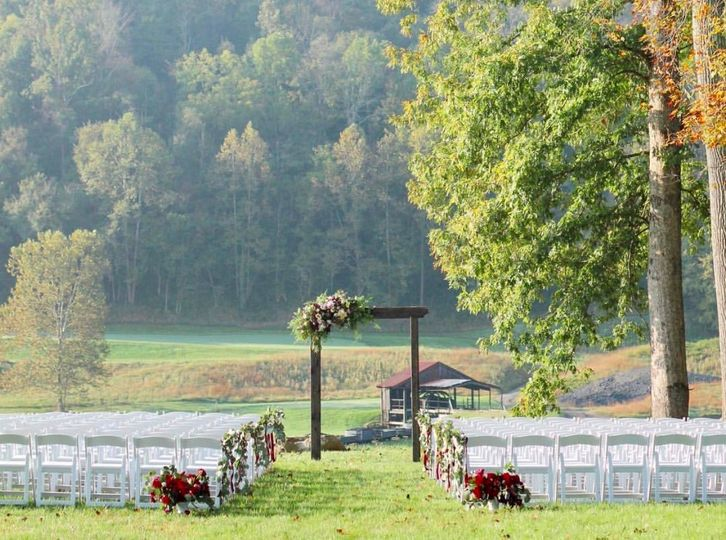 Outdoor Ceremony, Wooded Lot