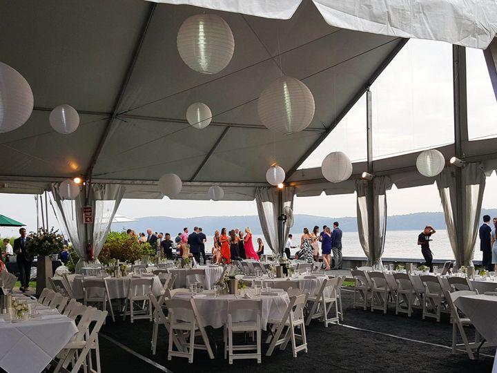 Tmx Tent With Hanging Lanterns 2 Red Hat Pat Adelman 29 51 910595 Irvington, NY wedding venue