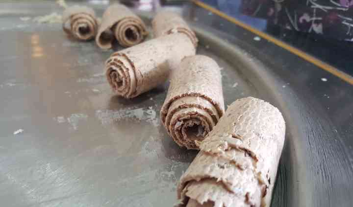Gelo Ice Cream Roll