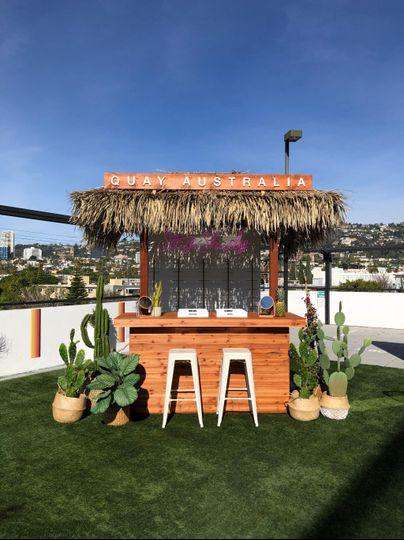 Full-Wooden Bar Rental