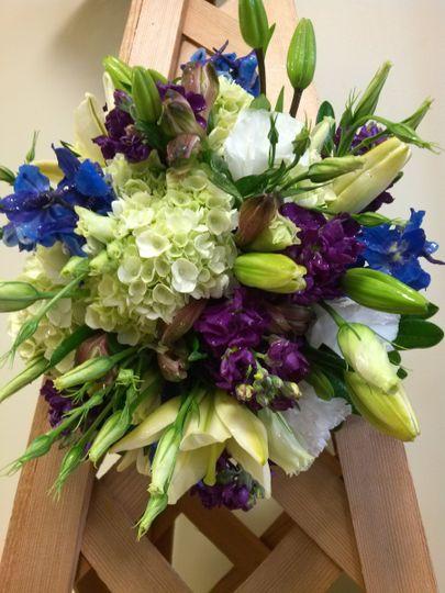 Blue and violet hues