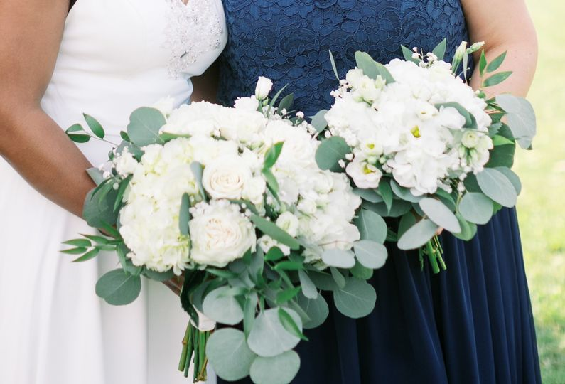 White Bridal Bouquets