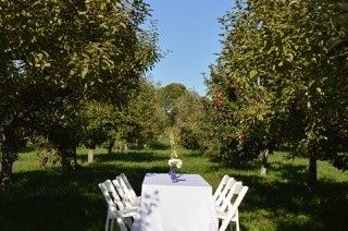 apple orchard dining private dinner parties