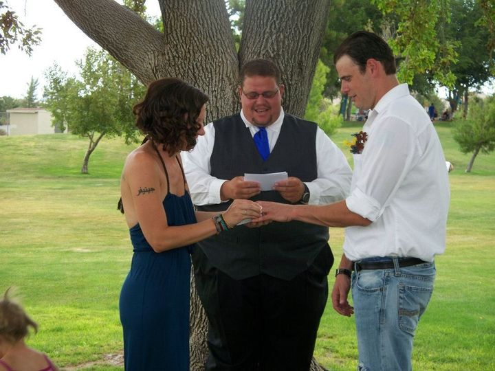 Tmx 1375732110421 4057972953087538498311645597537n Apple Valley wedding officiant