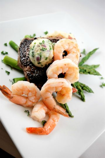 Surf & turf dining options