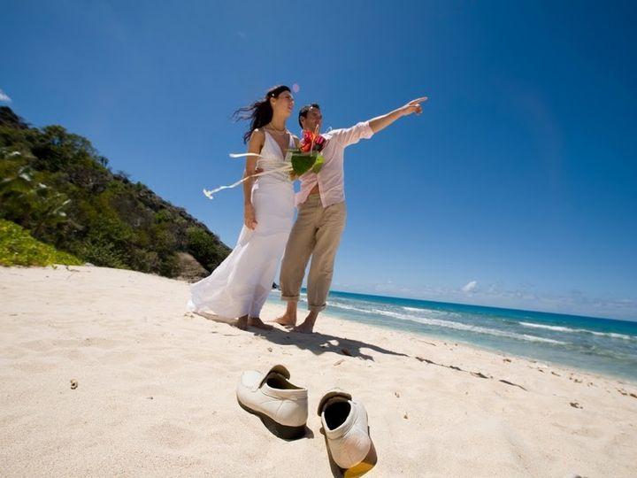 Tmx 1394665980419 Galleybayresortandspaweddingscoupleonbeach Wellington wedding travel