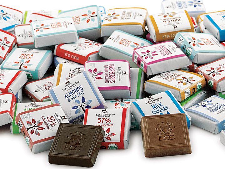 Organic Chocolate Squares