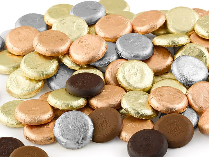 Organic Chocolate Coins