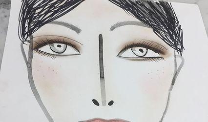 Diana D'Angelo makeup 1