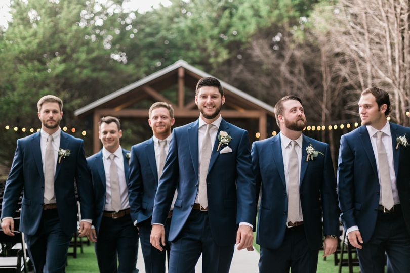 Groom's wedding party