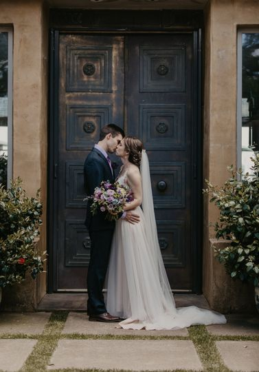 First look kiss