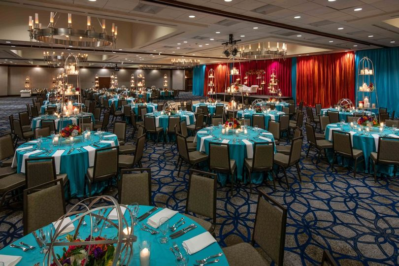 Memorable events in the Grand Ballroom