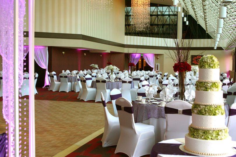 Wedding in Skyview Ballroom