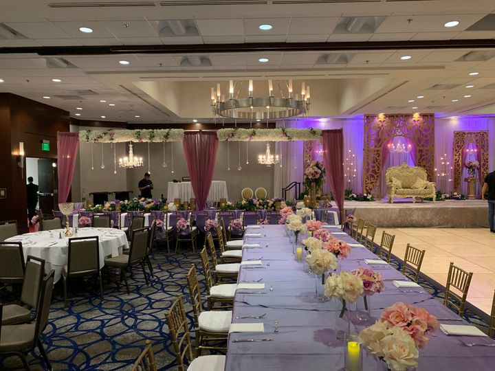 Elegant atmosphere in the Grand Ballroom