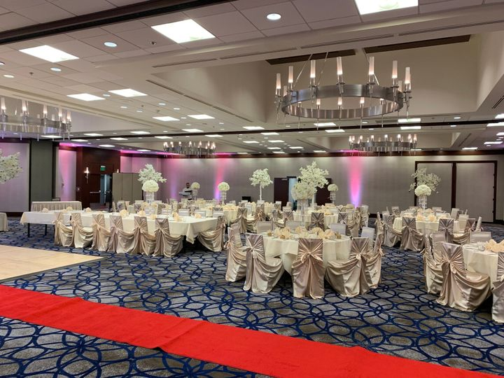 Wedding reception in the Grand Ballroom