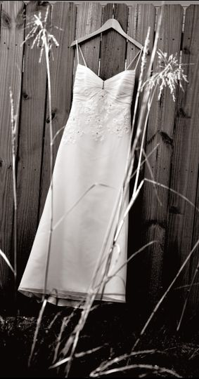 weddingdress bw