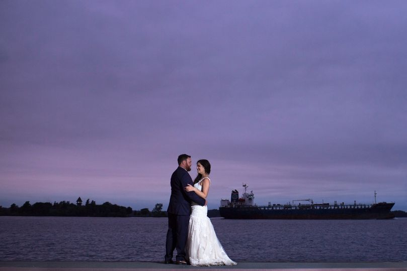 1000 Islands wedding