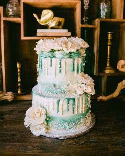 2 Tier Everything Cake