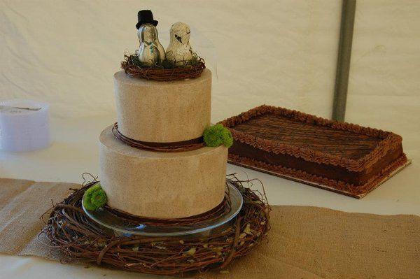 Mocha groom's cake