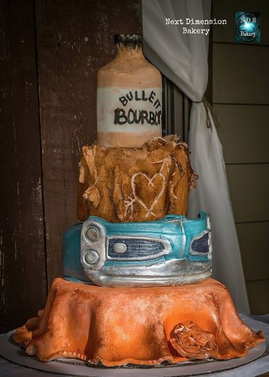 customcarbumperbonsculptedcakenextdimensionbakery