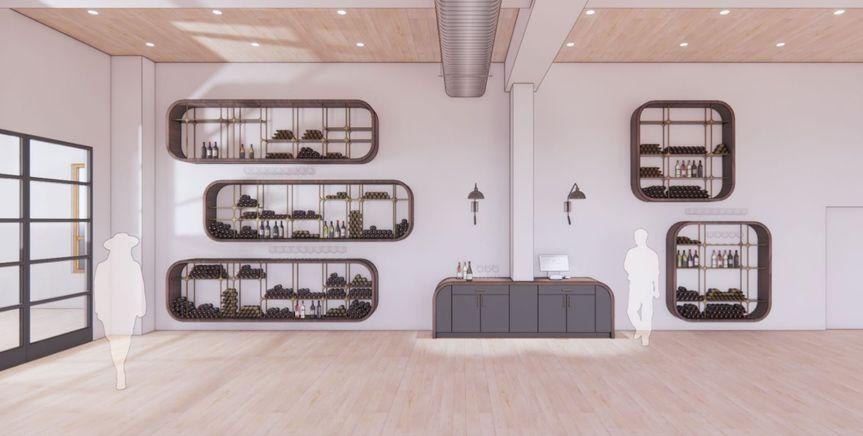 Lark Wine Library